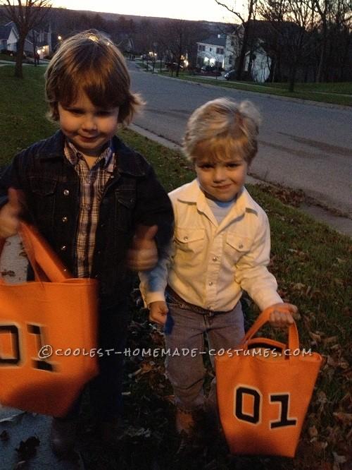 Cutest Little Dukes of Hazzard Bo and Luke Duke Costumes