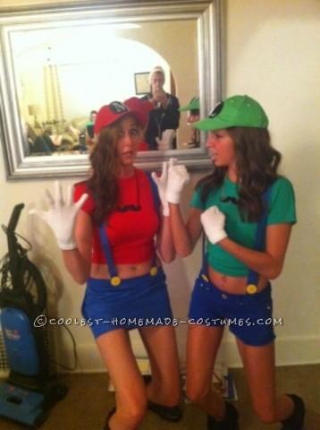Cutest Last-Minute Mario and Luigi Costumes for Women