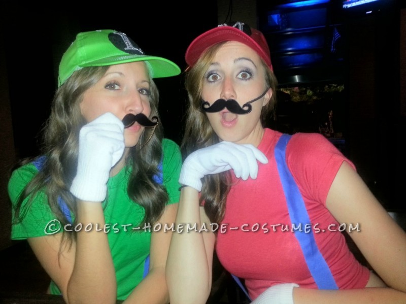 Cutest Last-Minute Mario and Luigi Costumes for Women - 1