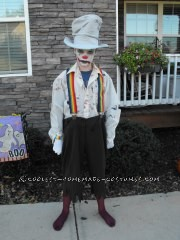 Easy Last-Minute Diabolical Clown Costume for a Tween - 1