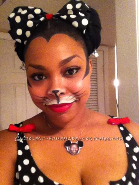Disney 2K Hip Hop Mickey and Sassy Minnie Couple Costume - 6