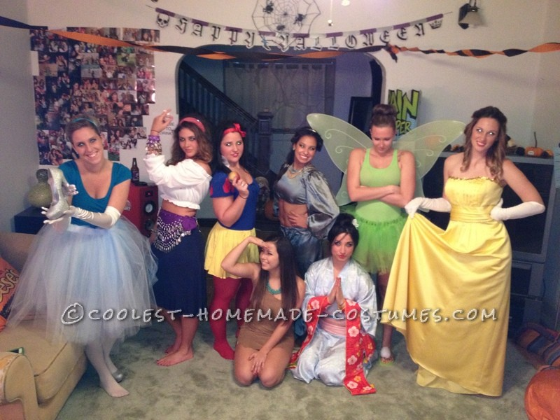 Disney Princesses Come to Life Group Costume