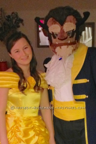 This Year(2012) my girlfriend and myself decided couples theme as Beauty and the Beast! We bought our costumes from a cosplay site, but I handcrafted