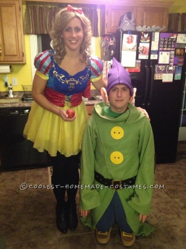 Dopey & Snow White