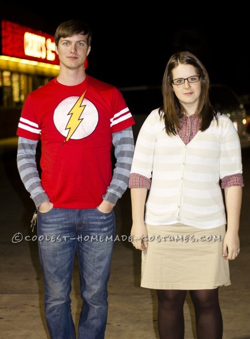Dr. Sheldon Cooper and Amy Farrah Fowler Couple Halloween Costume
