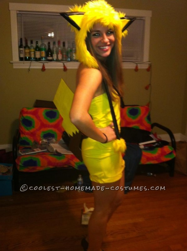 Easy Ash and Pikachu Couple Costume - 3