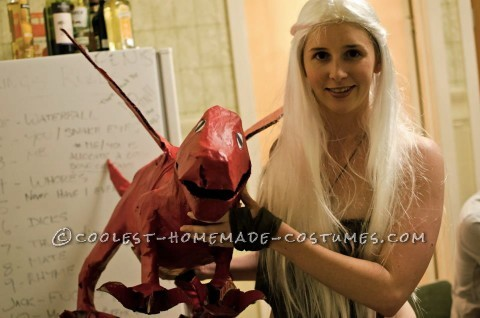 "Original Homemade Daenerys Targaryen Costume from Game of Thorns: Earlier this year I went to a ""Nerd"" themed costume party where we were encouraged to dress as things that nerds like or have a cult following. I deci"