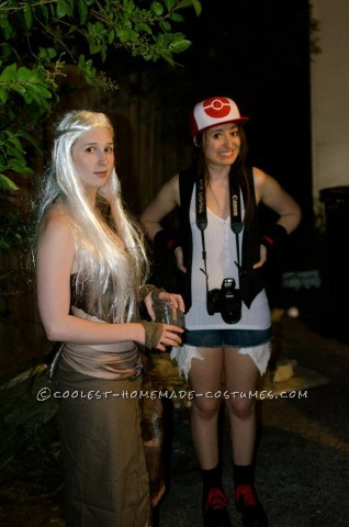 """Original Homemade Daenerys Targaryen Costume from Game of Thorns: Earlier this year I went to a """"Nerd"""" themed costume party where we were encouraged to dress as things that nerds like or have a cult following. I deci"""