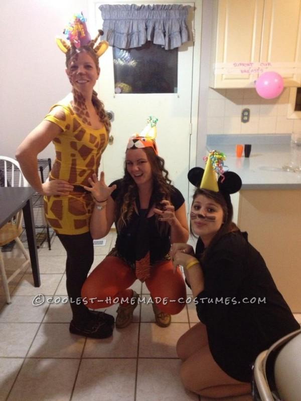 Easy and Fun Giraffe Costume
