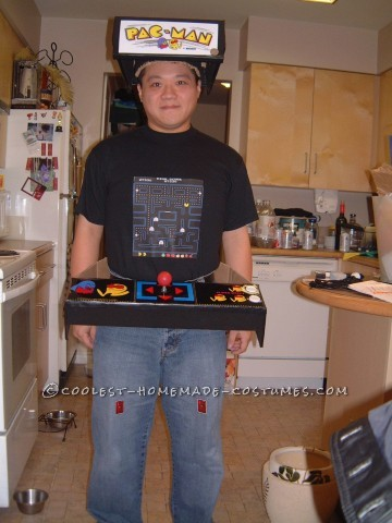 Easy and Original Pacman Machine Costume