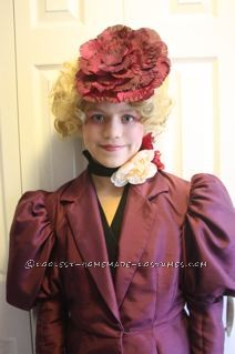 Coolest Effie Trinket from The Hunger Games Girl Halloween Costume - 4