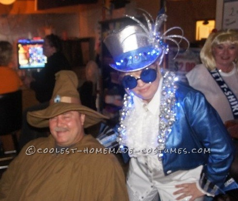 Coolest Homemade Elton John Costume - 1