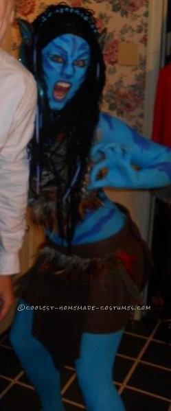 Evil Homemade Avatar Costume - 8