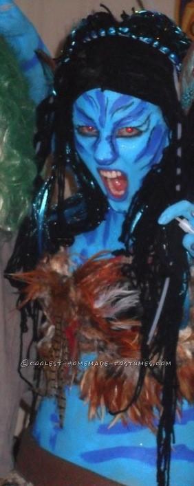 Evil Homemade Avatar Costume