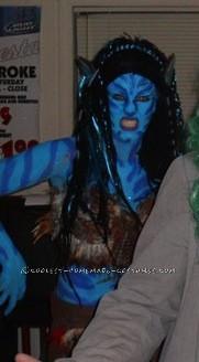 Evil Homemade Avatar Costume - 6