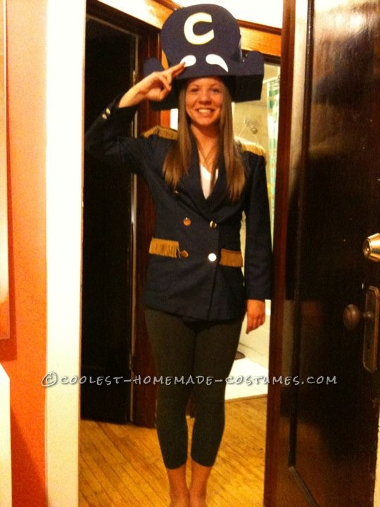Coolest Homemade Captain Crunch Halloween Costume for a Woman - 1