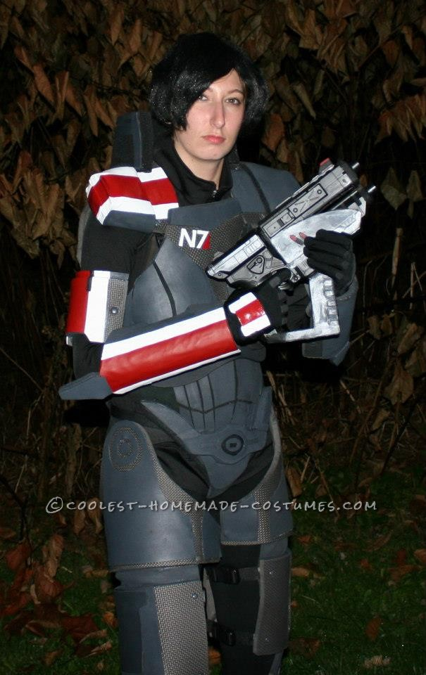 Epic Female Commander Shepard Costume from Mass Effect: Armor (what you need):