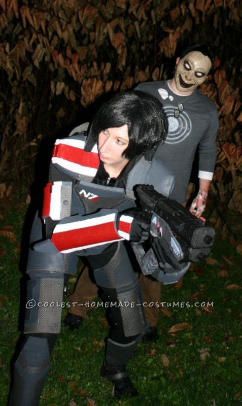 Epic Female Commander Shepard Costume from Mass Effect - 2