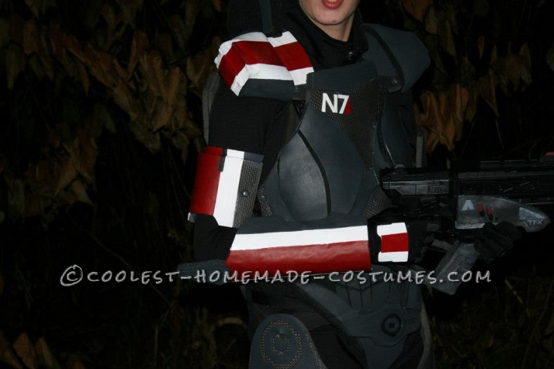 Epic Female Commander Shepard Costume from Mass Effect - 4