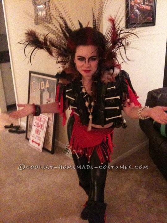 Homemade Female Rufio Costume - 1