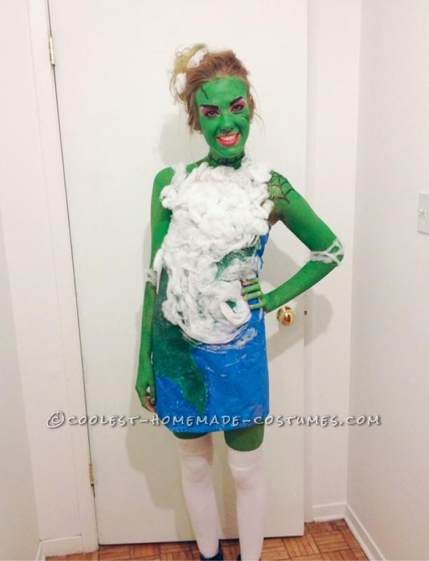 Original Frankenstein Meets Hurricane Sandy Costume - Frankenstorm!