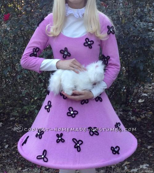 Original Homemade Frankenweenie Weird Girl Costume