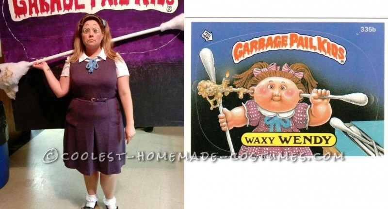 Great Group Costume for Halloween: Garbage Pail Kids 2012 - 6