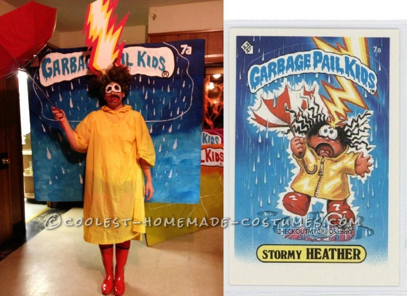 Great Group Costume for Halloween: Garbage Pail Kids 2012 - 5
