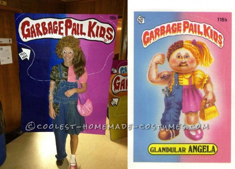 Great Group Costume for Halloween: Garbage Pail Kids 2012: I had the idea one night to be a Garbage Pail Kid for Halloween.  I called my best friend to ask her if she wanted in on the idea and the next thing