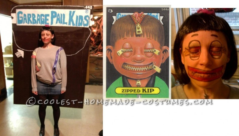 Great Group Costume for Halloween: Garbage Pail Kids 2012 - 3