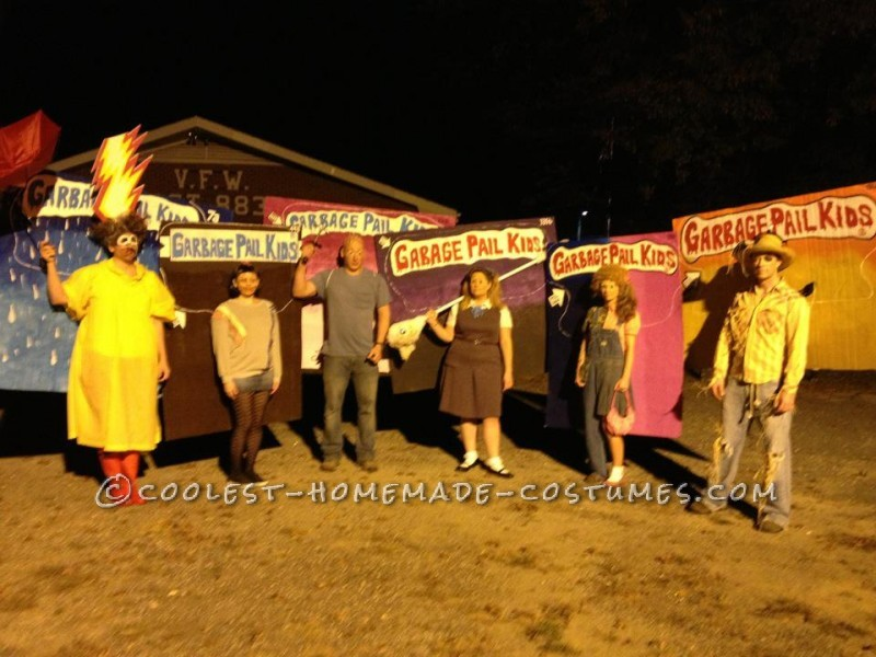Great Group Costume for Halloween: Garbage Pail Kids 2012