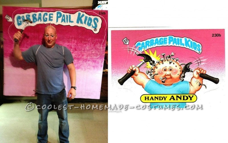 Great Group Costume for Halloween: Garbage Pail Kids 2012 - 1