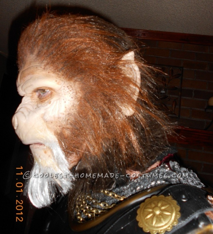 Epic Homemade Planet of the Apes Costume: General Thade Wants YOU!