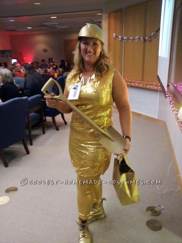 Original Homemade Gold Digger Costume
