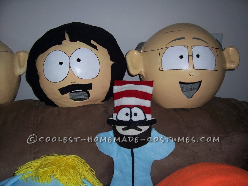Coolest Homemade South Park Group Costume - 1