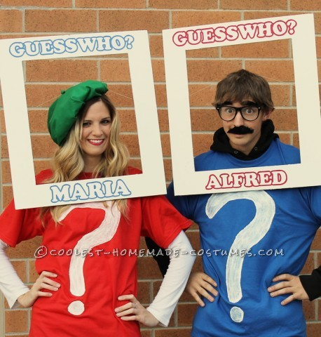 "Cool Couple Costume: ""Guess Who"" We Were for Halloween?"