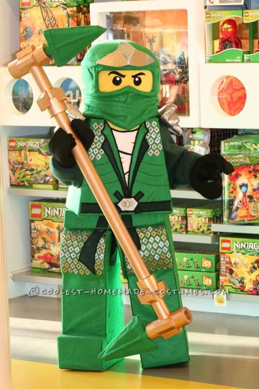 Coolest Lego Ninjago Homemade Halloween Costume