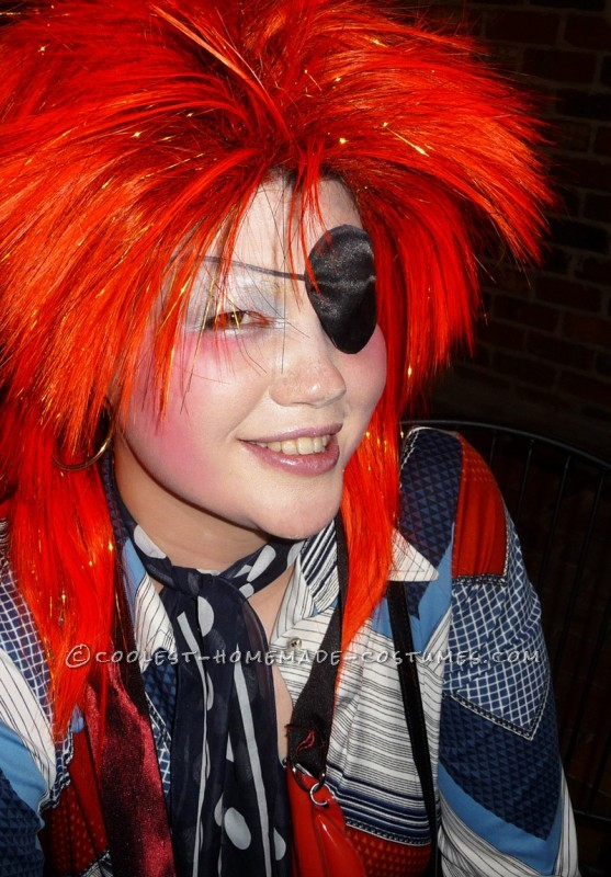 Homemade David Bowie Costume Inspired by Ziggy Stardust and Halloween Jack - 6