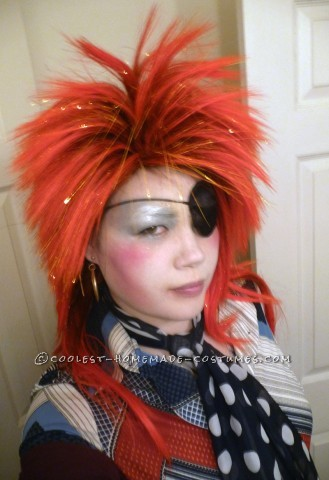 Homemade David Bowie Costume Inspired by Ziggy Stardust and Halloween Jack