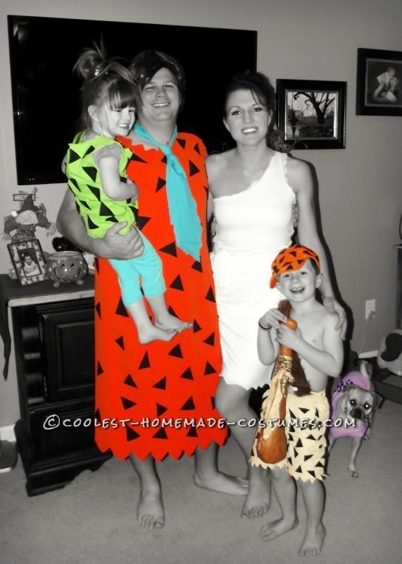 The Flintstone Family!