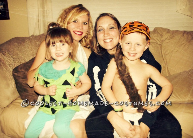 Pebbles and Bam Bam with Lauren and Aunt Ashley