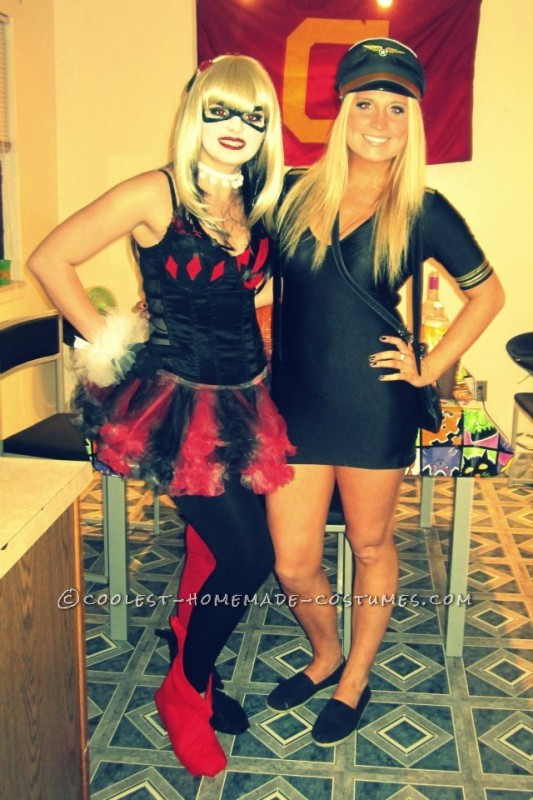 Handmade Harley Quinn Costume, Right Down to the Shoes!