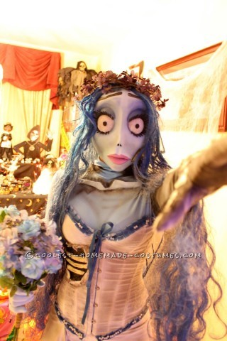 Awesome Handmade Tim Burton's Corpse Bride Costumes