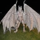 Epic DIY Harry Potter Albino Dragon Costume