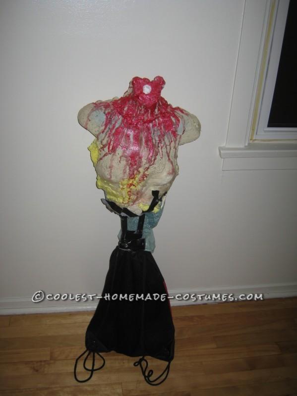 Scary Headless Marie Antoinette Homemade Halloween Costume - 2