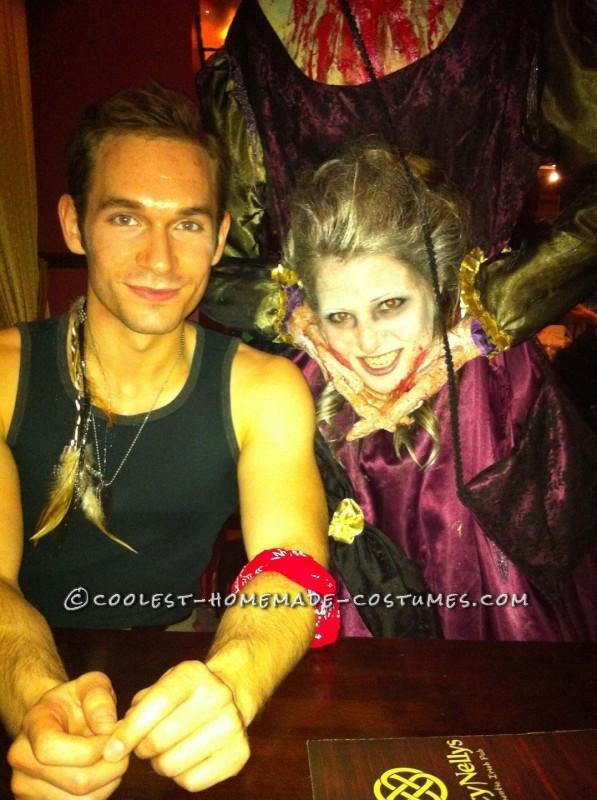 Scary Headless Marie Antoinette Homemade Halloween Costume