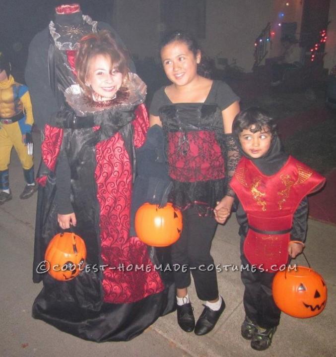 Headless Vampire Illusion Costume
