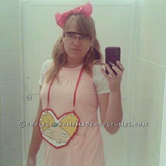 Easy Homemade Helga Pataki Costume from Hey Arnold - 5