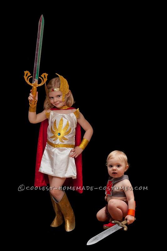 She-ra and Heman