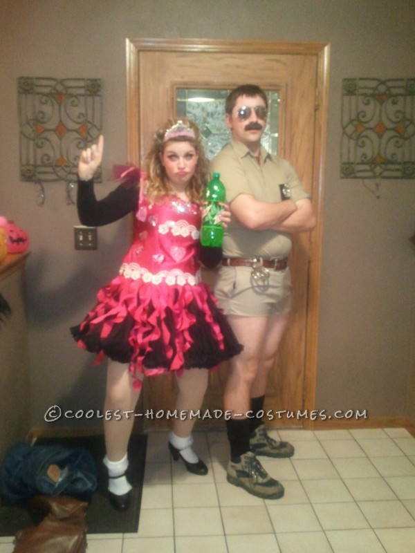 Hilarious Honey Boo Boo and Lt. Dangle Couple Costume